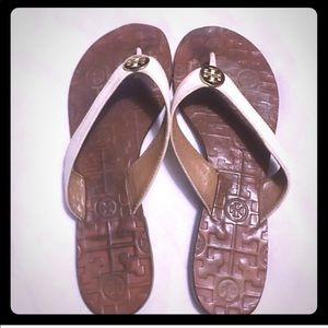 Tory Burch Shoes - Tory Burch thora thong sandals/ flip-flops cream